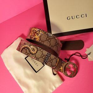 Gucci Bengal Tiger Belt 🐯